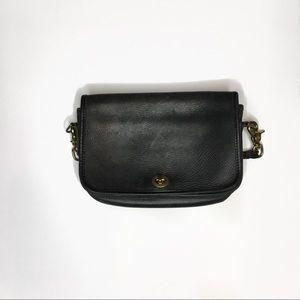 Simple Black Crossbody Bag